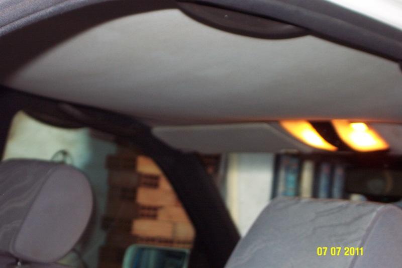 Fijaci n tapizado techo desplomado mercedes benz - Tapizado techo coche ...